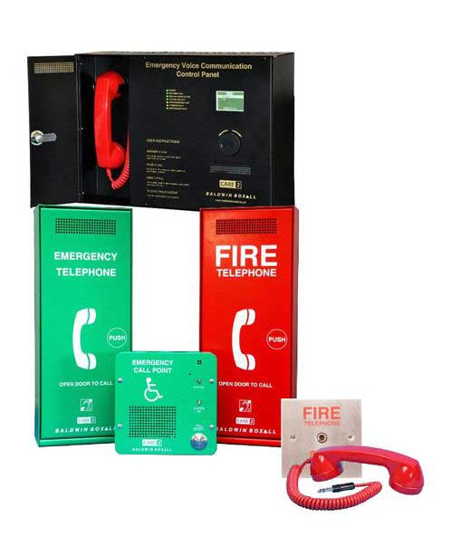 Supplier of Call-system-Emergency+Voice+Communication+Radial+wired+configuration in Bradford